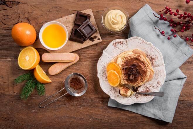 Tiramisu orange et chocolat
