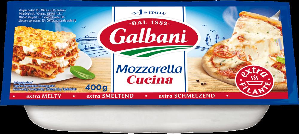 Mozzarella Cucina 400g Galbani