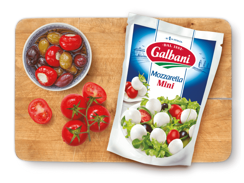 Galbani Mozzarella Mini, 150 g in situ