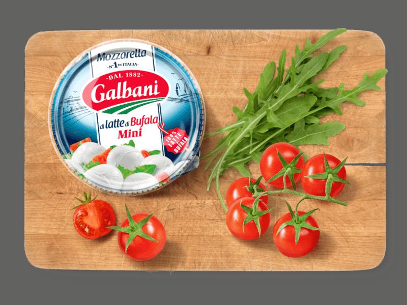 Galbani Mozzarella di latte di Bufala Mini, 150g in situ