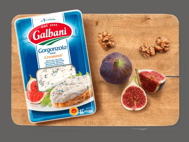 Galbani Gorgonzola Cremoso D.O.P., 200g in situ