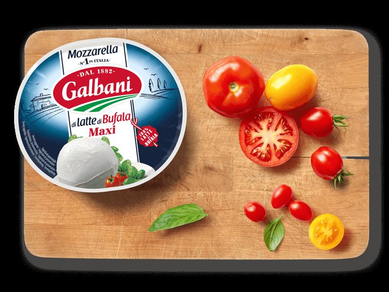 Galbani Mozzarella di latte di Bufala Maxi,  200g in situ