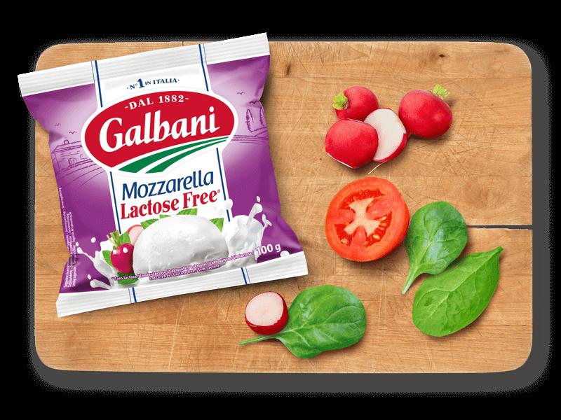 Mozzarella sans lactose 100g Galbani in situ