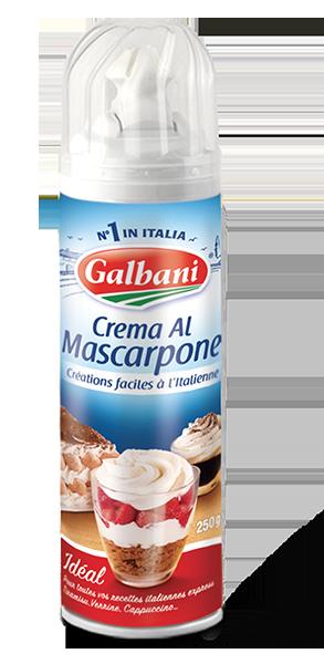 Crema al Mascarpone 250g Galbani in situ